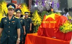 TP.HCM tiễn biệt phi đội trưởng CASA-212 Nguyễn Đức Hảo