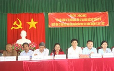 Phó bí thư huyện ủy gợi ý bầu đại biểu Quốc hội