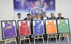 5 đội dự Giải bóng rổ chuyên nghiệp VN đầu tiên
