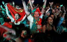 Hơn 10.000 CĐV Bồ Đào Nha đổ ra đường mừng chiến thắng