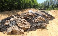 Formosa lên tiếng về 100 tấn chất thải chôn ở trang trại