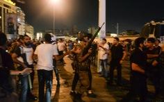 Lính Thổ Nhĩ Kỳ tham gia đảo chính nói tưởng diễn tập