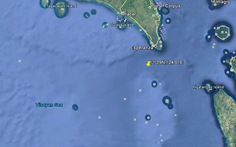 Phòng vệ bờ biển Philippines cứu thuyền viên Việt Nam rơi xuống biển