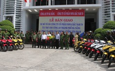 Trang bị 50 môtô cho cảnh sát Đà Nẵng