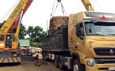 Xe tải trọng 40 tấn, chở… 100 tấn