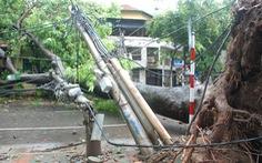Tổng công ty Điện lực TP Hà Nội nỗ lực khôi phục lưới điện sau bão