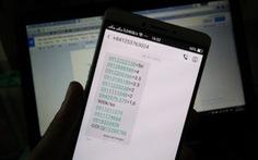 Thu hồi SIM đã đăng ký thông tin thuê bao bán trên thị trường