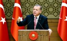 Thổ Nhĩ Kỳ tố phương Tây ủng hộ khủng bố