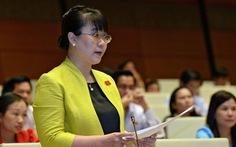 Bãi nhiệm đại biểu HĐND TP Hà Nội với bà Nguyệt Hường