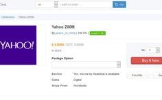 Dữ liệu 200 triệu người dùng Yahoo bị rao bán