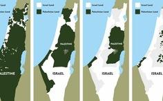 """Google đang """"xóa sổ"""" Palestine trên Google Map"""