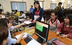 Hàng ngàn thí sinh đã xác nhận nhập học