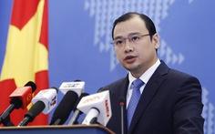 Phản đối Đài Loan diễn tập tại khu vực đảo Ba Bình