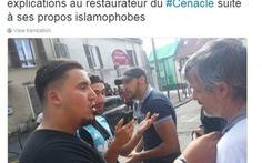 """Dân Paris giận dữ nhà hàng """"không phục vụ phụ nữ Hồi giáo"""""""