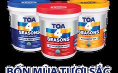 Sắc thu quyến rũ cùng sơn nước TOA 4 Seasons