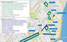 Hạn chế lưu thông nhiều tuyến đường ở trung tâm TP.HCM