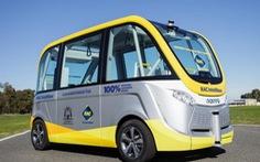 Úc chạy thử nghiệm xe bus không người lái
