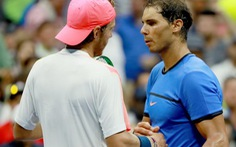 Tay vợt 22 tuổi Pouilleloại Nadal khỏi US Open 2016