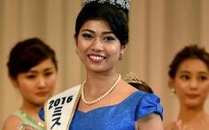 Hoa hậu Nhậtgốc Ấn gây tranh cãikhi lên ngôi