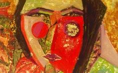 Ngắm mặt nạ và tranh chân dung đón Trung thu