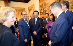 Hợp tác kinh tế là ưu tiên trong quan hệ Việt - Pháp
