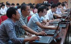 Hà Nội: khắc phục khó khăn để thực hiện sổ điểm điện tử