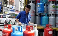 Giá gas giảm 4.500 đồng/bình