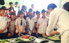 Hướng nghiệp cho học sinh trung học tại Cần Giờ