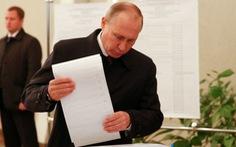 Kết quả sơ bộ bầu cử Nga: Đảng cầm quyền chiếm ưu thế