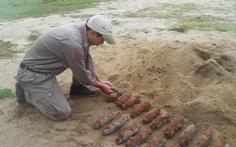 Phát hiện hầm đạn pháo khi đào móng nhà