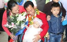 Ngày trở về hạnh phúc của đoàn thể thao người khuyết tật VN