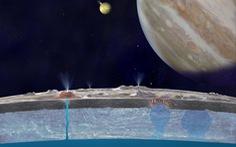 Chấn động: Bằng chứng mới về biển ngầm trên mặt trăng Europa