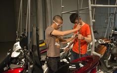 Ưu Đàm triển lãm sắp đặtxe gắn máy tại Nhật