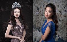 Hoa hậu Mỹ Linh giới thiệu váy dạ hội tôn vóc dáng