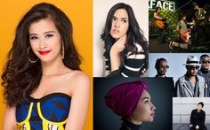 6 đối thủ của Đông Nhi tại giải Nghệ sĩ Đông Nam Á