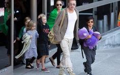 Brad Pitt được gặp lại các con