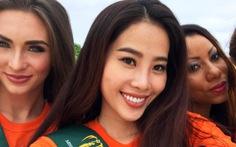 Nguyễn Thị Loan sang Mỹ, Nam Em diện bikini tạiPhilippines
