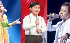 Giọng hát Việt nhí: xem clip hát top 3 vào chung kết