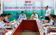 Doanh nghiệp sản xuất phân bón điêu đứng vì thuế GTGT
