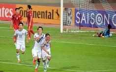 VN thua Nhật Bản 0-3 ở bán kết Giải U-19 châu Á 2016