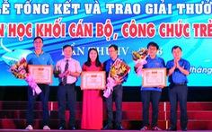44 đoàn dự hội thi Tin học khối cán bộ, công chức trẻ toàn quốc