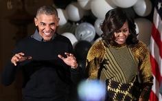 Tổng thống Obama và phu nhân làm 'thây ma' ngày Halloween