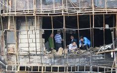 Cháy quán karaoke ở Hà Nội: lấy lời khai 3 thợ hàn