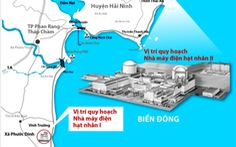 Thảo luận dừng dự án điện hạt nhân Ninh Thuận