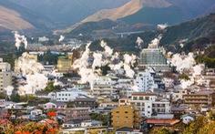 Hàng triệu du khách đến 'thiên đường' suối nước nóng ở Nhật