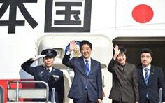 Thủ tướng Nhật Bản và tổng thống đắc cử Mỹ chính thức gặp mặt