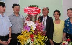Bí thư thứ nhất Trung ương Đoàn thăm thầy Nguyễn Ngọc Ký