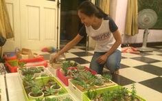 Sinh viên kinh doanh online từ tình yêu cây cỏ