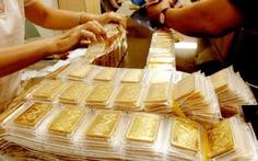 Tráo vàng giả số lượng lớn