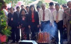 Long trọng tổ chức lễ giỗ cụ Phó bảng Nguyễn Sinh Sắc
